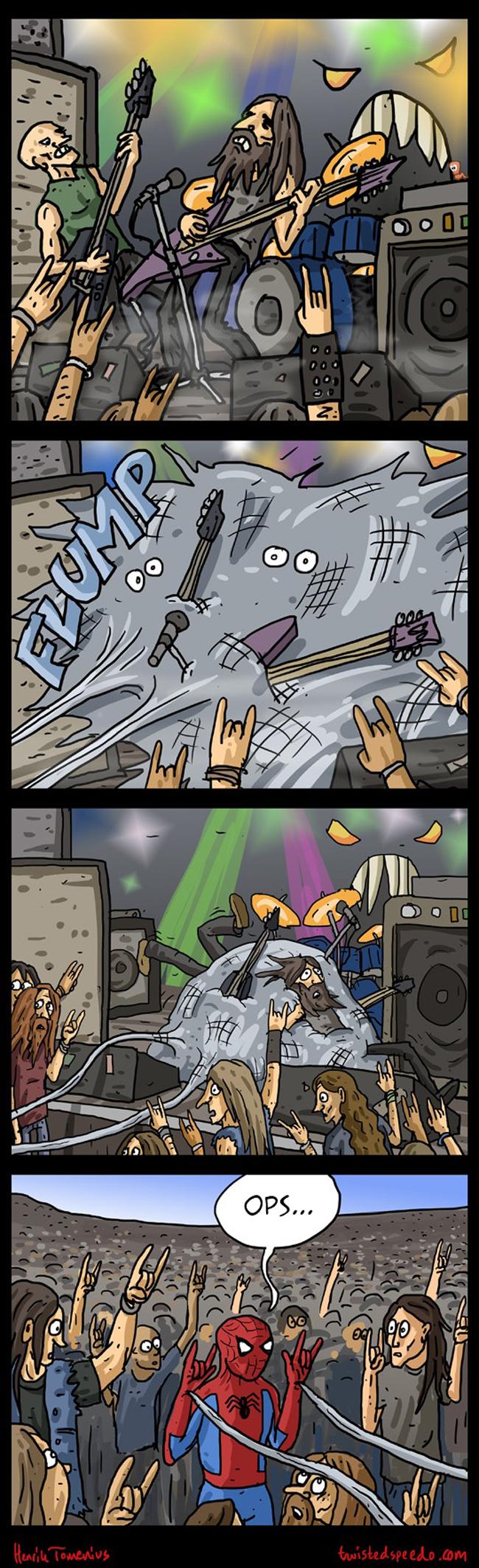 satirinhas-homem-aranha-num-show-de-rock