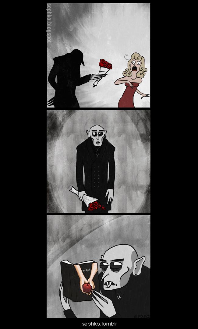 Vampiros também amam