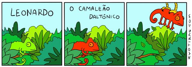o-camaleão-daltônico