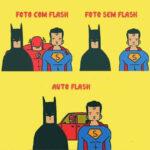 Fotos. Com flash ou sem flash?