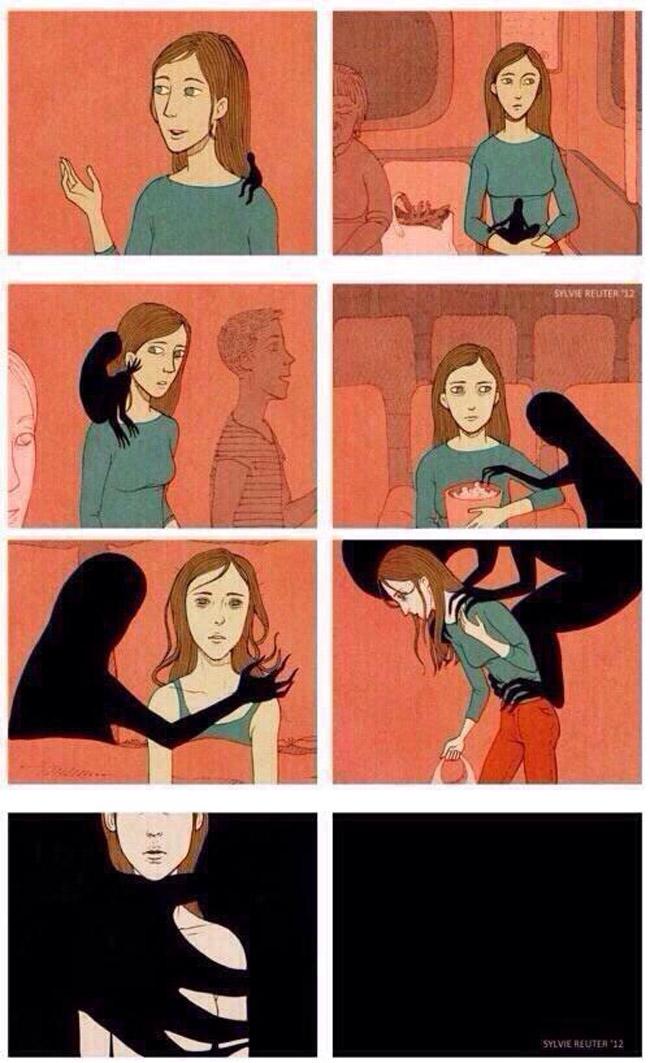Como a depressão age