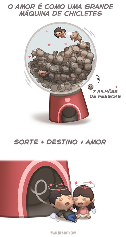 o-amor-é-como-uma-grande-máquina-de-chicletes