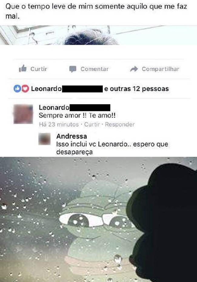 Desapareça, Leonardo!
