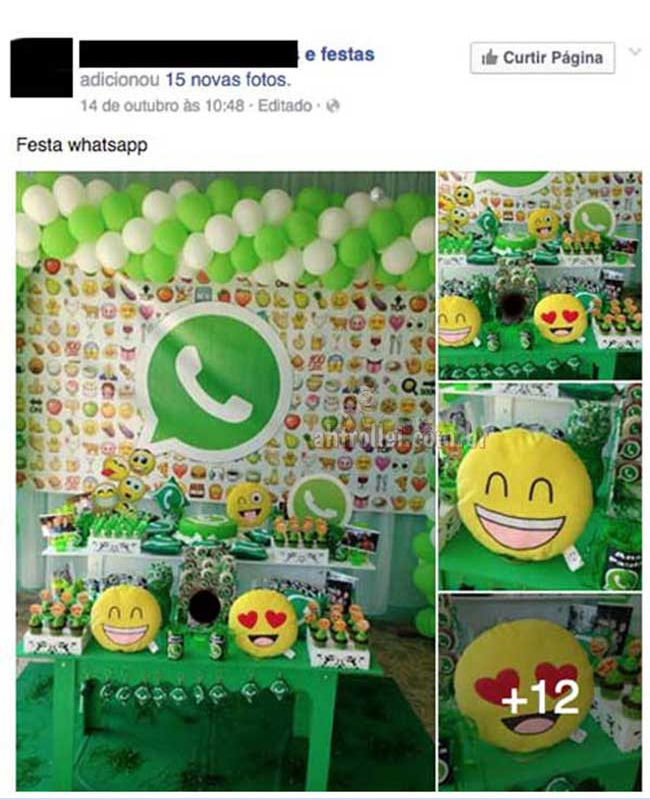 A festa do Whatsapp