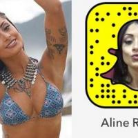 Beldades brasileiras para seguir no Snapchat.