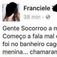 A política no Brasil tá uma merda.