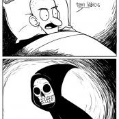 O terrível beijo da morte