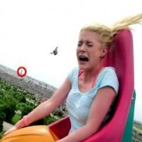10 momentos mais engraçados em parques de diversões.