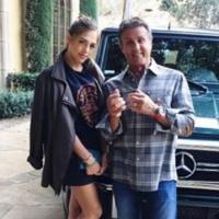 Você precisa conhecer a filha de Stallone.