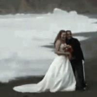 Um casamento trágico.