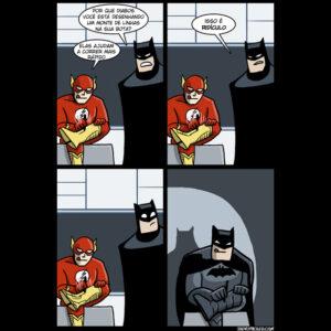 O Batman não tem poderes