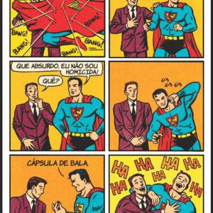 O Superman é um brincalhão