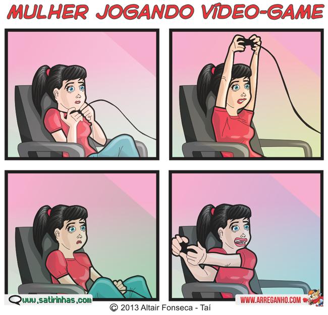 arreganho-e-satirinhas-mulher-jogando-vídeo-game