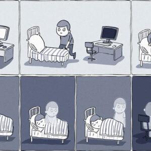 O viciado em internet. Esse já vendeu até a alma