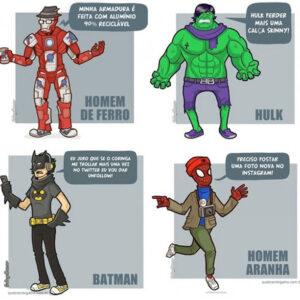 A personalidade dos heróis