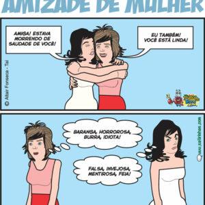 Amizade de mulher