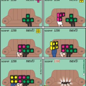 Entenda o amor com Tetris
