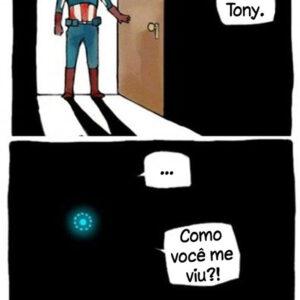 O Homem de Ferro não pode se esconder