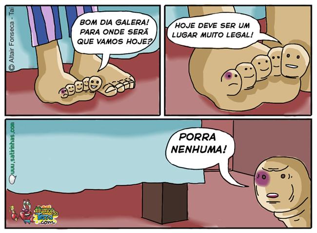 A triste vida do dedinho