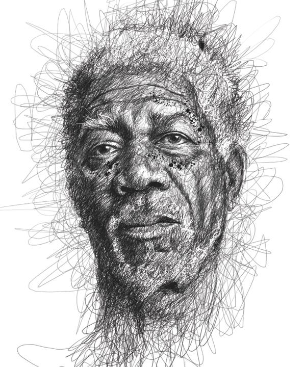Incríveis desenhos de artistas