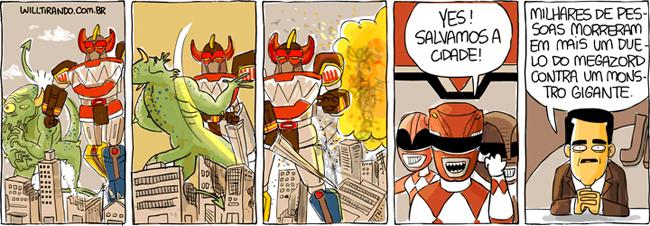 Power Rangers são assassinos