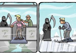A visita da morte