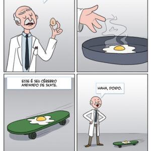 Imagine que seu cérebro é um ovo