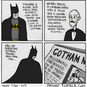 A morte do Batman