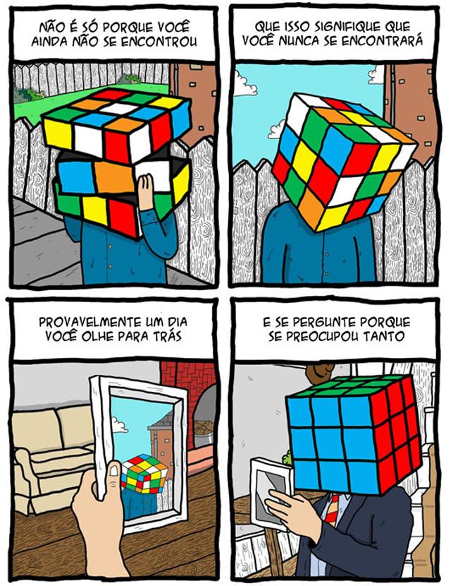 Você já se encontrou na vida?