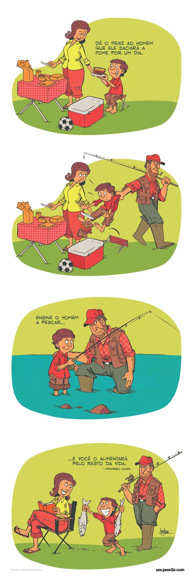 ensinando-a-pescar