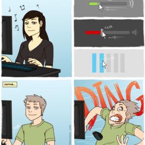 Mexeram no meu computador!