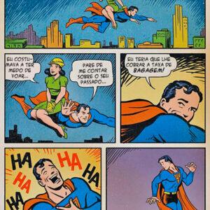 Superman não sabe tratar uma mulher
