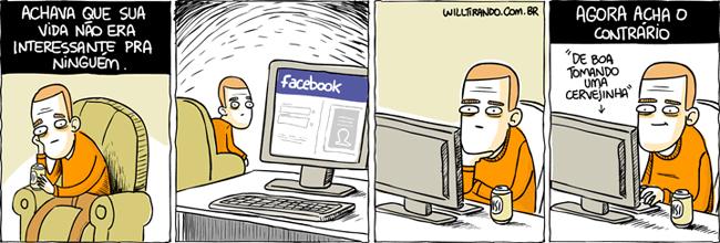 As pessoas se sentem importantes no Facebook