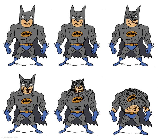 Por que o Batman é tão bravo?