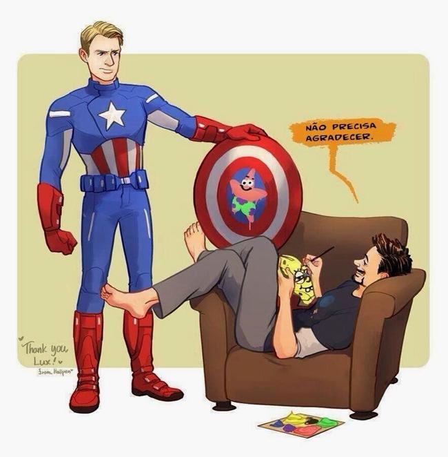 Tony Stark gosta de zoar!