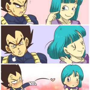 O beijo do Vegeta