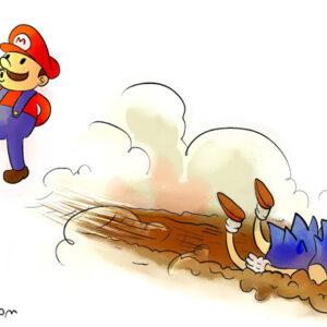 Mário ou Sonic?