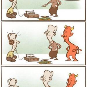 Essa música é do demônio!