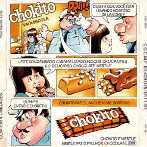 Hummm, então é Chokito!