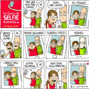 Em busca da selfie perfeita