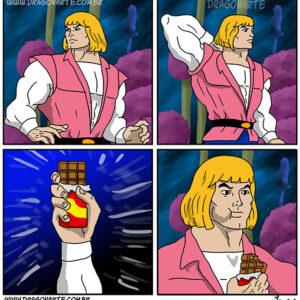 He-Man tem a força!