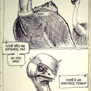 A vida não faz sentido – A história do avestruz emo