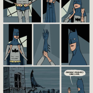 A vida sombria do Batman