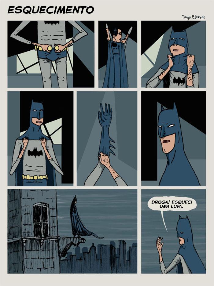 A vida sombria do Batman