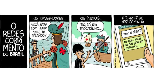 o-descobrimento-do-Brasil-hoje-em-dia