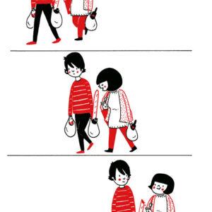Fazendo compras com quem a gente gosta