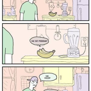 Bananas ruins são perigosas
