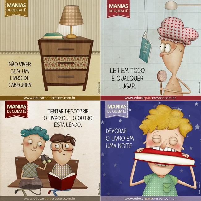 manias divertidas de quem lê (4)