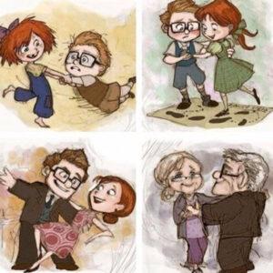 Um amor pra toda a vida. Quem não quer?