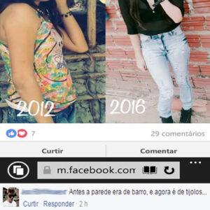 Antes e depois emocionante